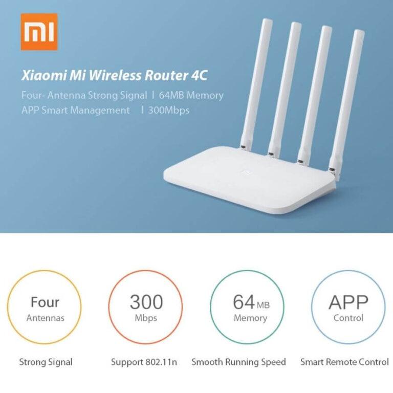 Router Xiaomi 4C