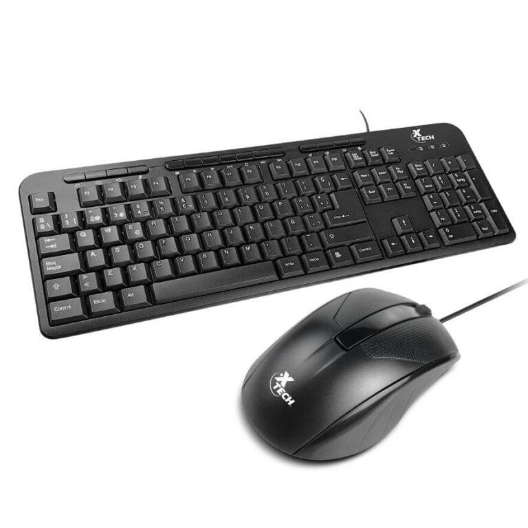 Combo Mouse y Teclado Xtech XTK301S