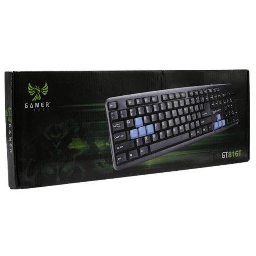 Teclado Computador Gamer Tech GT816T